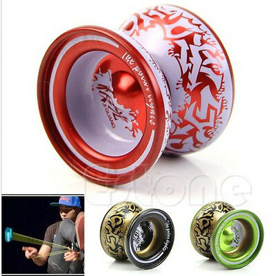 Aluminum Alloy YoYo Ball Bearing String Kids Children Professional Playing Toy
