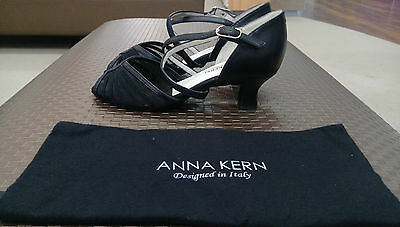 Anna Kern Suede Black Women's Ballroom Shoes size 3.5 UK