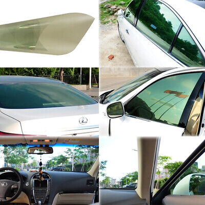 SUV Car Light Green Side Window Tint Solar Films Car Explosion-proof Glass Film