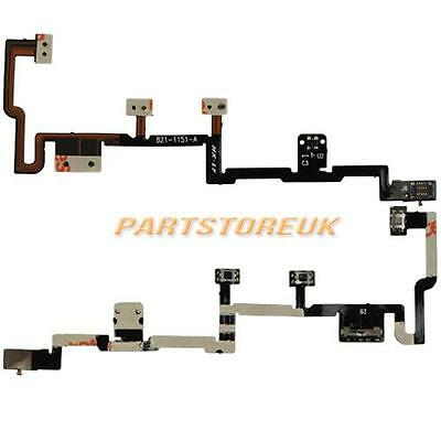 On Off Power Volume Button Connector Flex Ribbon Cable For Apple iPad 2 UK Ship