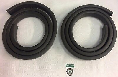 Bearmach Land Rover Defender Body Seal Hardtop Side / Body Rubber Lower-333487x2