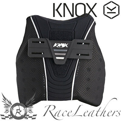 Knox Motorcycle Motorbike Protective Chest Guard Upgrade Armour For Shirts Gilet