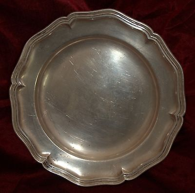 Wilkens & Söhne German 830 Silver Tray Platter Fully Marked Engraved 11.III.1934