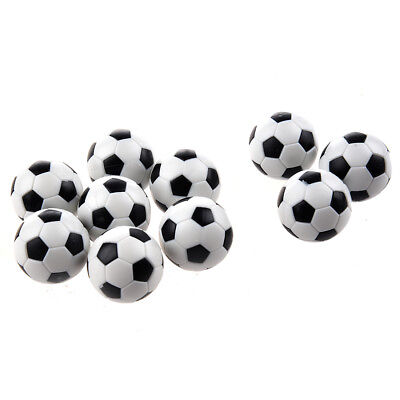 10pcs 32mm Plastic Soccer Table Foosball Ball Football WS