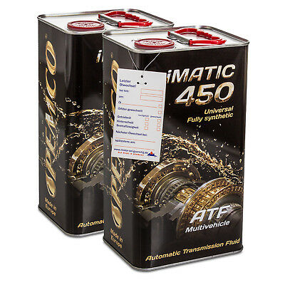 8 (2x4) Liter PEMCO iMATIC 450 ATF JWS Multivehicle Automatikgetriebeöl