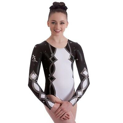 "Milano Pro Sport Gymnastic leotard 'Harlequin 170616' Sizes 26""-36"" - NEW"
