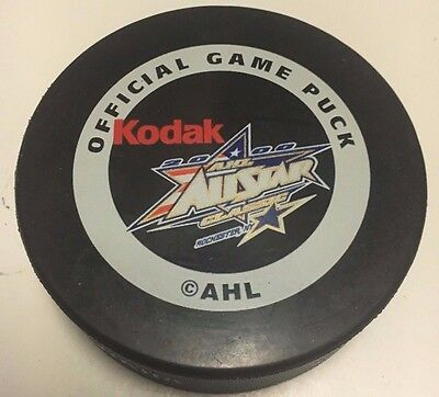 2000 AHL All Star Game Official Game Puck Houston Aeros