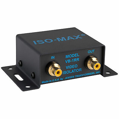 Jensen Iso-Max VB-1RR 75 Ohm RCA Composite Video Isolator