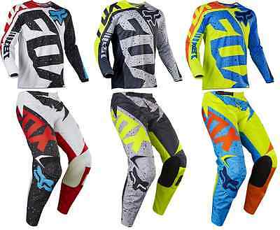 2017 Fox Racing 180 Nirv Pant & Jersey Riding Gear Combo Dirt Bike Motocross Atv