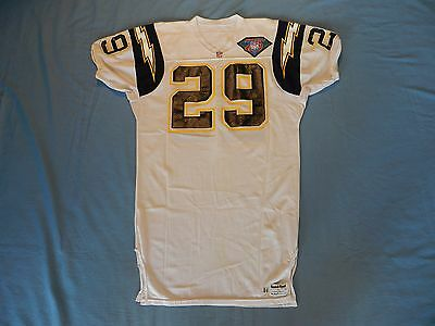Darren Carrington 1994 San Diego Chargers game used jersey