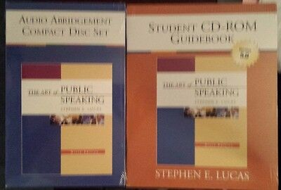 The art of public speaking stephen lucas 9th edition bundle audio cd the art of public speaking stephen lucas 9th edition bundle audio cd new fandeluxe Image collections