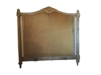 A Paint Decorated Gustavian Style Queen Size Bed 102-4871