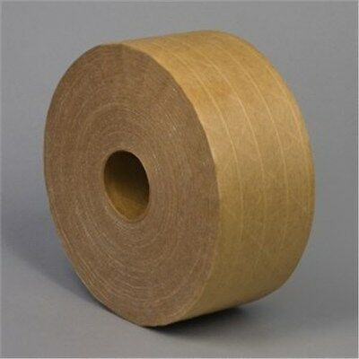 BULK Green Wave Water Activated Kraft Tape (5- ROLLS OF TAPE)