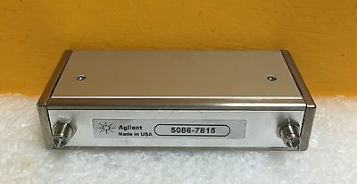 Agilent  /HP 5086-7815 DC to 4 GHz,70dB, 24VDC, SMA Programmable Attenuator New!