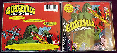 Godzilla King Of Monsters (cd) Stories