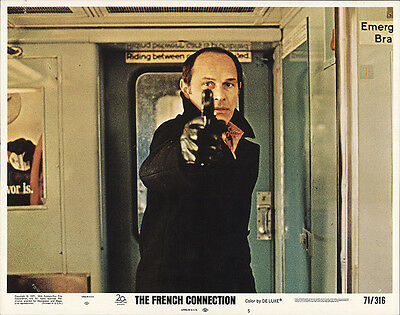 The French Connection 1971 Original Movie Poster Action Crime Drama