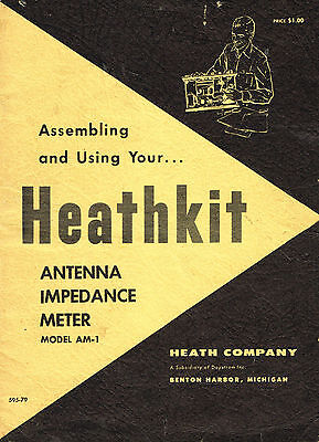 Heathkit Antenna Impedance Meter Instructions