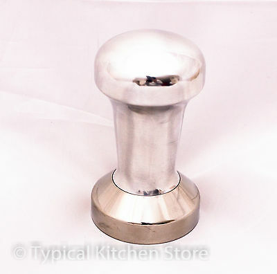NEW Protamp Coffee Flat Tamper 49mm stainless steel handle 488g ROK