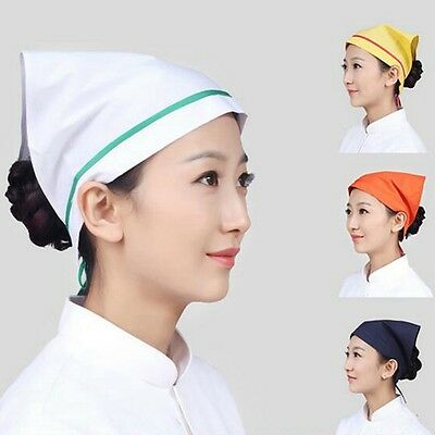 New Kerchieves Chef Hat Professional Catering Various Colourfull Chef Cap Hot