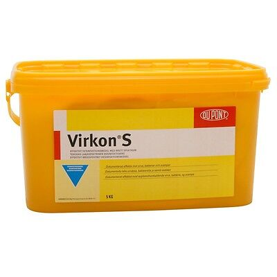 Virkon S Broad Sprectrum Virucidal Disinfectant 5kg Tub