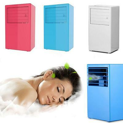 Mini 3 Speed Portable Desktop Table Air Conditioner Cooling Cool Fan For Home