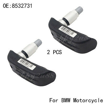 Set(2) 8532731 Front & Rear TPMS Tire Pressure Sensor For BMW Motorcycle R1200RT