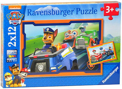 Ravensburger 2 x 12pc Paw Patrol Puzzle - Paw Patrol in Action