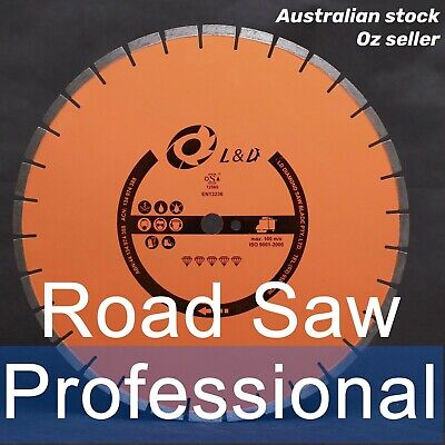 21inch 27HP To 48HP Professional Laser welded  Road Saw Diamond Blade / Concrete