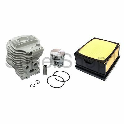 Cylinder & Piston Kit Nikasil Fits Partner Husqvarna K760 (Air Filter Included)