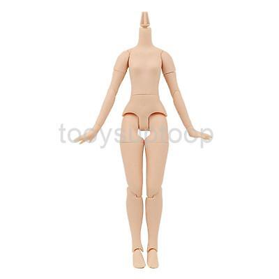 "Natural Skin Body with Flexible Joints for 12"" TAKARA Neo Nude Blythe Doll"