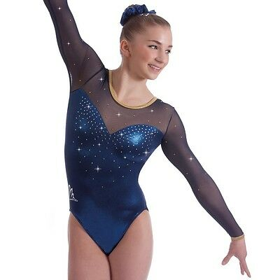 "Milano Pro Sport Gymnastic leotard 'Britannia 170642 Sizes 26""-36""  NEW"