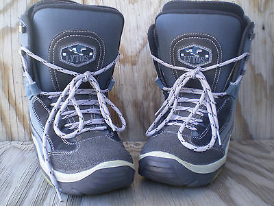 Lytos Millennium Euro Size 38 US Women's Size 7.5 Insulated Snowboarding Boots