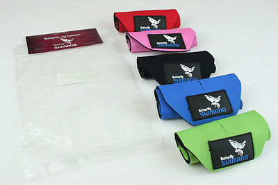 New Shimano BFLJC05 Butterfly Cocoon Wraps 5 Per Pack