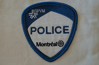 Canadian Quebec SPVM Montreal Police Patch Obsolete