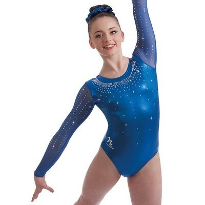 "Milano Pro Sport Gymnastic leotard Supreme 170652 Sizes 26""-36""  NEW"