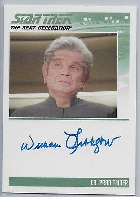 The Complete Stng Autograph William Lithgow