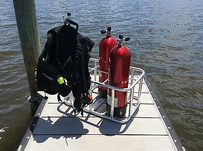 Scuba Tank Rack BC Holder