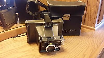 Vintage Polaroid Land Camera Colorpack II w/Case
