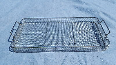 "Medical / Surgical/ stainless/ Sterilization Wire Basket  21"" x 10"" x 2"""