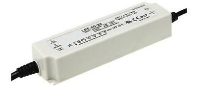 Mean Well LPF-40-15, Constant Voltage LED Driver 40.08W 15V dc 2.67A