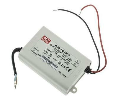 Mean Well PCD-16-700B Constant Current Dimmable LED Driver 16.8W 16-24V 0.7A