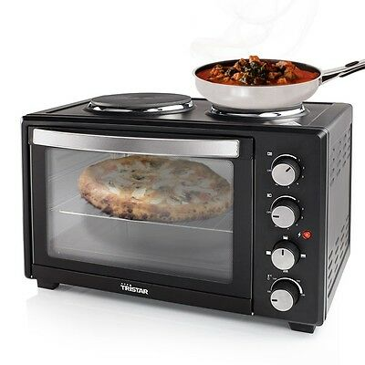 Tristar OV1442 Electric Oven With Hot Plates, Mini Kitchen Cooking Appliance