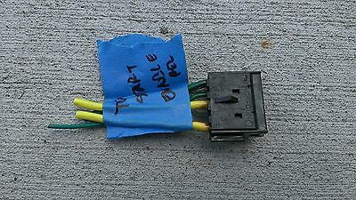 C4 Corvette Starter Enable Relay (VATS) Connector/Harness w/pigtail OEM