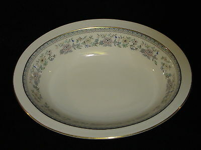 """Minton Bordeaux 10 3/4"""" Inch OVAL VEGETABLE BOWL Bone China Made In England 1978"""
