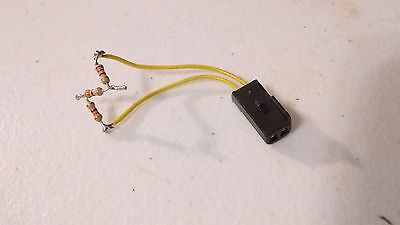 C4 Corvette VATS Anti-Theft ignition cylinder Connector/Harness w/pigtail OEM