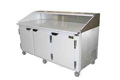 """Cooltech 72"""" Refrigerated Pizza Dough Retarder Table,  Self-Contain"""