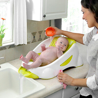 NEW Munchkin Clean Water Bath Tub Support Green #`44929CNP