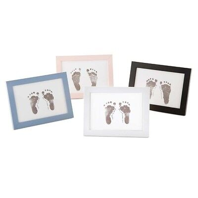 Baby Made Photo Frame Inkless Baby Foot or Hand Print Kit. Baby Keepsake