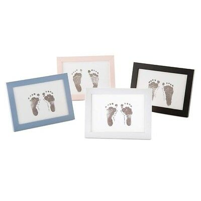 Belly Art Photo Frame Inkless Baby Foot or Hand Print Kit. Baby Made Keepsake