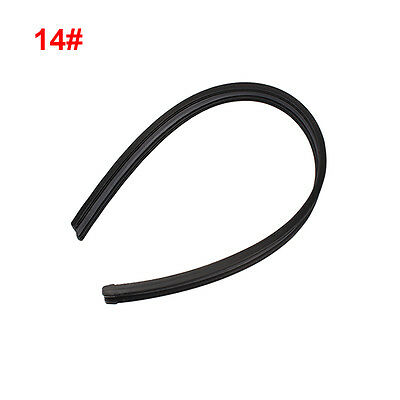 "1 Pair 14"" Universal Frameless Car Bus Windshie Wiper Blade Rubber Refill Strips"